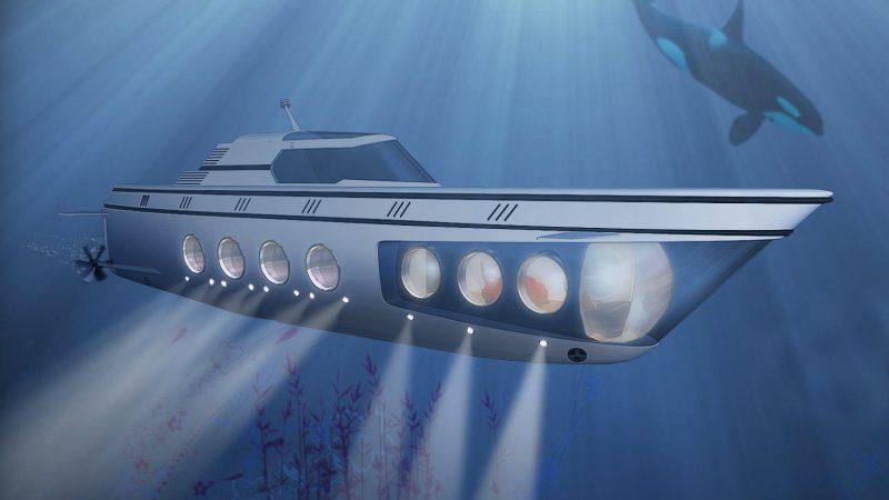Kapal Selam Mewah Termahal di Dunia